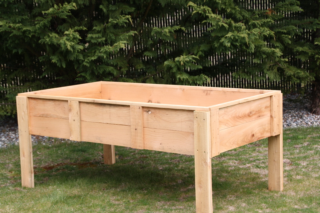 Raised garden beds on legs modern diy art designs for Making raised garden beds